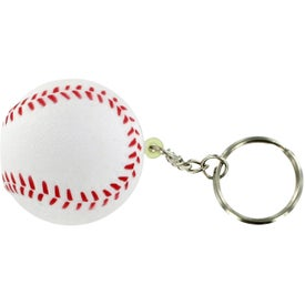 Baseball Stress Reliever Keyring with Your Logo