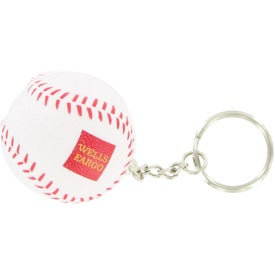 Baseball Stress Reliever Keyring for Customization