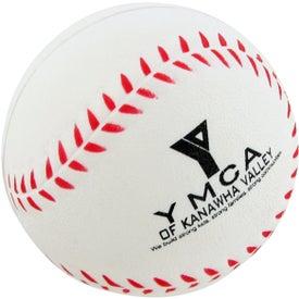 Customized Baseball Stress Toy