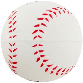 Baseball Stress Toy Printed with Your Logo