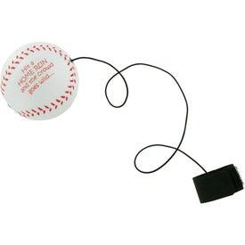 Baseball Stress Ball Yo Yo Printed with Your Logo