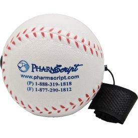 Customized Baseball Yo-Yo Stress Toy