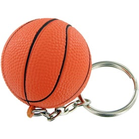 Basket Ball Keychain Stress Toy for Your Church