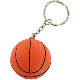 Basket Ball Keychain Stress Toy for Your Organization