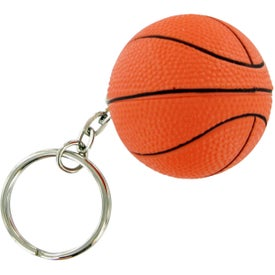 Basket Ball Keychain Stress Toy for Your Organization