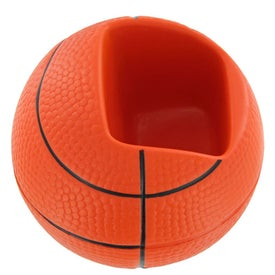 Basketball Cell Phone Holder Stress Toy for Your Organization