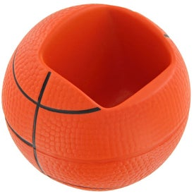 Basketball Cell Phone Holder Stress Toy for Advertising