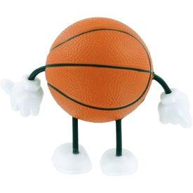 Basketball Figure Stress Ball for Your Church