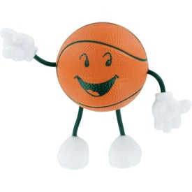 Basketball Figure Stress Ball for Advertising