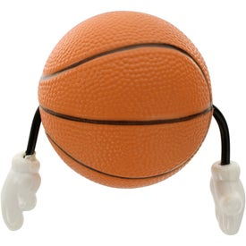 Company Basketball Figure Stress Ball