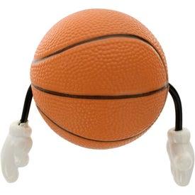 Company Basketball Figure Stress Ball