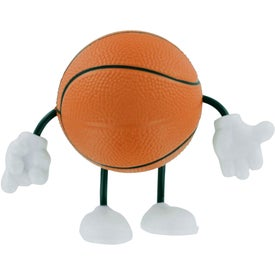 Basketball Figure Stress Ball