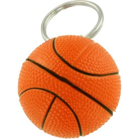 Basketball Key Chain Stress Ball for Your Church