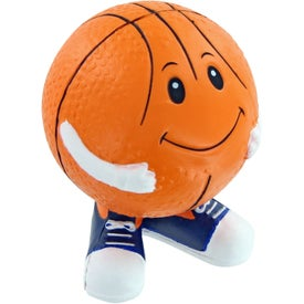Basketball Man Stress Toy with Your Slogan