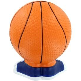 Company Basketball Man Stress Toy