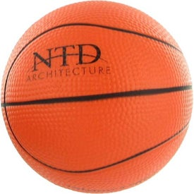 Basketball Stress Reliever for Advertising