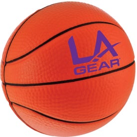 Customized Basketball Stress Relievers