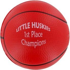 Customized Basketball Stress Ball