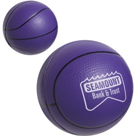 Basketball Stress Ball Imprinted with Your Logo