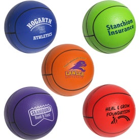 Advertising Basketball Stress Ball