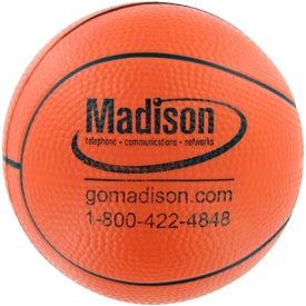 Company Basketball Stress Toy
