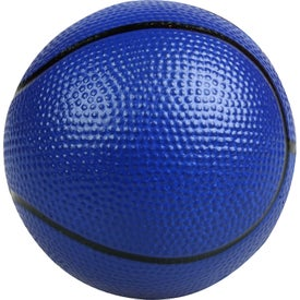 Imprinted Basketball Stress Ball