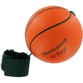 Basketball Stress Ball Yo Yo with Your Logo