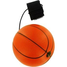 Logo Basketball Stress Ball Yo Yo