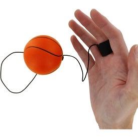 Personalized Basketball Stress Ball Yo Yo