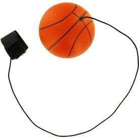 Basketball Stress Ball Yo Yo