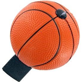 Basketball Yo-Yo Stress Toy with Your Logo