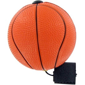 Branded Basketball Yo-Yo Stress Toy