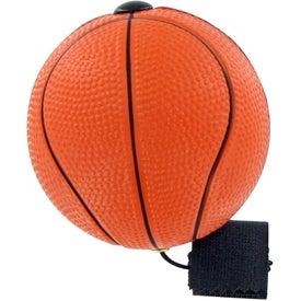 Branded Basketball Yo-Yo Stress Toy