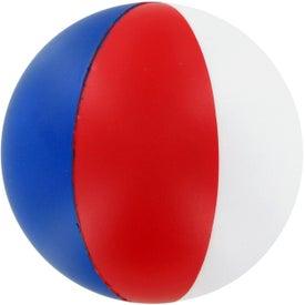 Advertising Custom Beach Ball Stress Ball