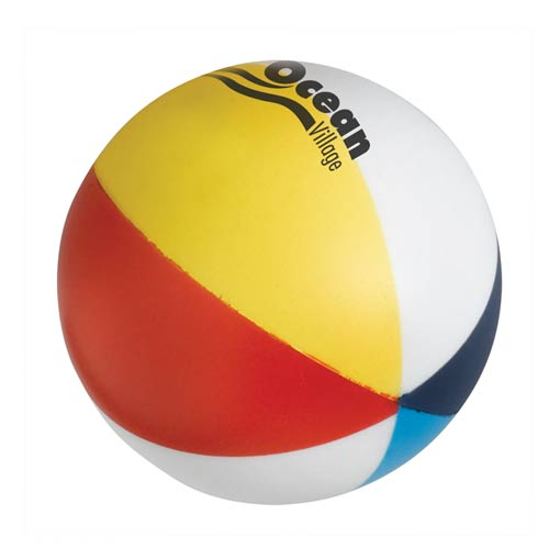 See Item Beach Ball Stress Shape