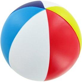Personalized Beach Ball Stress Toy