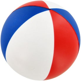 Beach Ball Stress Toy for Your Company