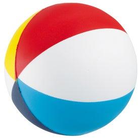 Beach Ball Stressball for Promotion
