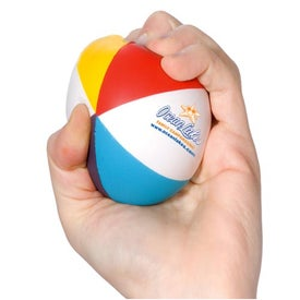 Beach Ball Stress Squeeze for Promotion