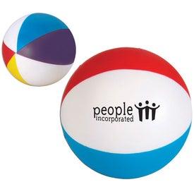Beach Ball Stress Ball for Advertising