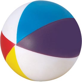 Beach Ball Stress Ball Printed with Your Logo