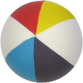 Customized Beach Ball Stress Ball