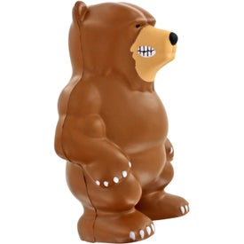 Bear Mascot Stress Ball Printed with Your Logo