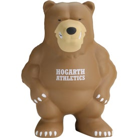 Bear Mascot Stress Ball