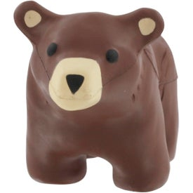 Bear Stress Reliever for Advertising