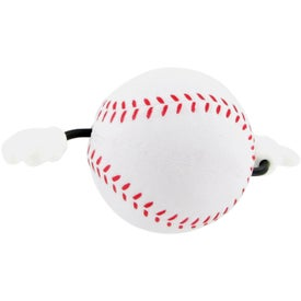Personalized Baseball Figure Stress Ball