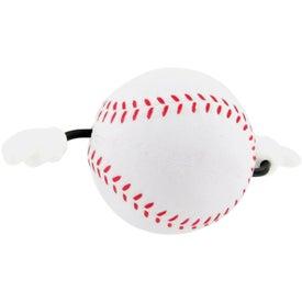 Personalized Baseball Figure Stress Ball