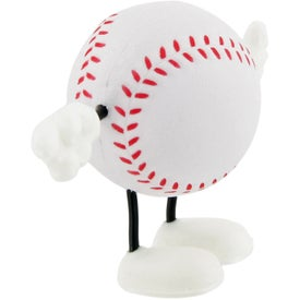 Baseball Figure Stress Ball with Your Logo