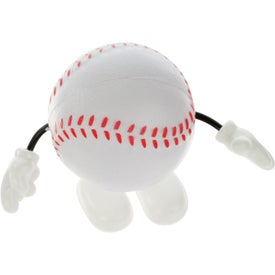 Baseball Figure Stress Ball for Customization