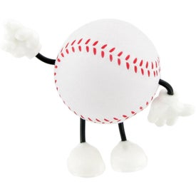 Baseball Figure Stress Balls